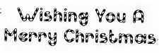 Unmounted Rubber Stamps, Christmas Stamps, Sayings, Candy Cane Christmas Saying