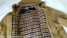 Aquascutum à capuche duffle coat beige MADE UK SZ 42 BNWT