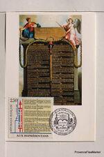yt 2603 FRANCE  Carte Postale Maximum DECLARATION DROIT DE L HOMME 2
