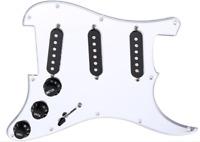 New PICKGUARD loaded STRATOCASTER silver mirror pour guitare STRAT