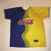 d512e5ab9 Club America Bimbo Coca-Cola Corona Futbol Soccer Jersey Yellow One Sz xl