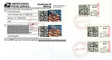 """USA APC/ATM/CVP """"Before & After Conversion"""" stamps (with changes) on Form3817"""