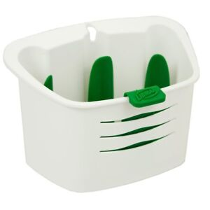 Libman Sink Caddy - White/Green (1146) USA made! - NEW