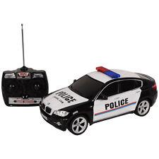 1/14 BMW X6 Licensed Electric Radio Remote Control RC Police Car w/Lights Gift