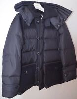 NEW Moncler TOURVILLE Navy Jacket Puffer Parka Down Coat Size 3 / Large