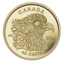 2014 50-CENT PURE GOLD COIN OSPREY - CANADA .9999 FINE GOLD - BOX & CERTIFICATE