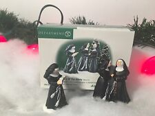 New Department 56 Alpine Village Series Sisters Of Abbey Set Of Two #56213