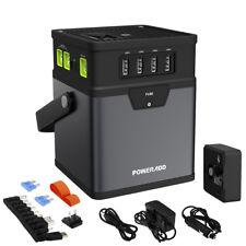 50000mAh Multifunction Power Bank DC/AC Portable Power Inverter AC Car Adapter