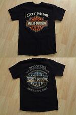 Women's Harley Davidson S Black Shirt I Got Mine Sioux City IA