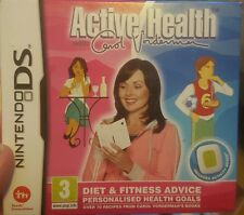 Active Health Carol Vorderman , Activity Meter Nintendo DS New (i am a celebrity