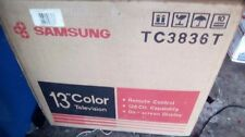 """13"""" samsung color crt tv brand new in box w remote pickup only"""