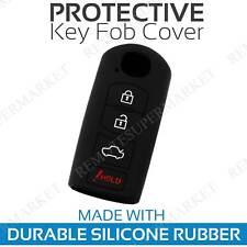 Key Fob Cover for 2017-2018 Mazda CX-3 Remote Case Rubber Skin Jacket