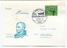 1962 Projekt Mercury John H. Glenn Frechen 1 Europa Deutsche Bundespost SPACE