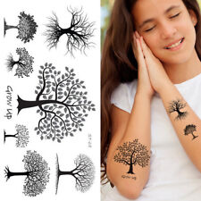 Supperb® Temporary Tattoos - Black Grow Up Trees