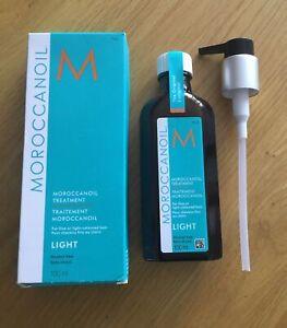 Moroccan Oil Treatment Light 100ml BNIB