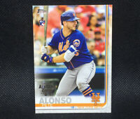 2019 Topps Pete Alonso RC All Star Game Stamp Variation SP Rookie Mets #475