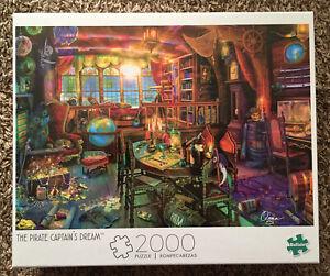 Buffalo Games Aimee Stewart The Pirate Captain's Dream 2000 Piece Jigsaw Puzzle