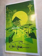 Eddie Vedder signed concert program coa + Proof! Pearl Jam autographed drawing