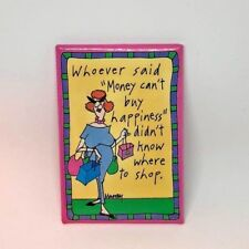 Money Can't Buy Happiness Magnet by Murray