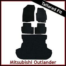 Mitsubishi Outlander Tailored Fitted Carpet Car +Boot Mat (2007 2008..2010 2011)