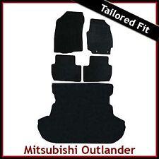 MITSUBISHI Outlander montato su misura moquette auto + Boot MAT (2007 2008... 2010 2011)