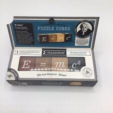 Puzzle Cubes E=mc2 Professor Puzzle Wooden Puzzle
