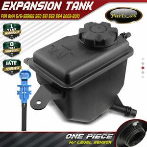 Coolant Expansion Tank w/ Cap & Sensor for BMW 5/6-Series E60 E61 E63 E64 03-10