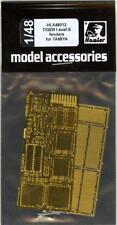 Hauler Models 1/48 PANZER IV TIGER I AUSF E FENDERS Photo Etch Detail Set
