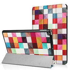 étui de protection pour Apple iPad 2017 9,7 Pouces Housse Couverture aspect cuir