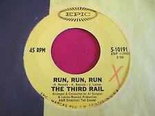 ROCK 45 - THE THIRD RAIL - RUN RUN RUN / NO RETURN - EPIC 10191