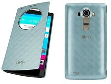 New Original LG G4 Quick Circle Flip Folio Window Case Cover Blue OEM Genuine LG