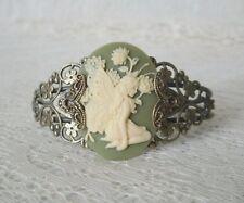 Fairy Cuff Bracelet, victorian renaissance fantasy art nouveau edwardian celtic