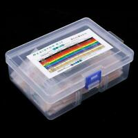 1460pcs Metal Film Resistor Kit Assortment Set Labelled 1 Precision Z2K6