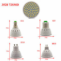 LED Spotlight GU10 MR16 E14 E27 3/4/5/6/7/15W Light Bulbs 2835 5050 SMD COB Lamp