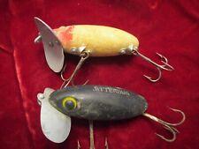 Vintage Jitterbug Fishing Lure Lot of 2