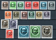 Bavaria 1919 - Sc# 193 - 211 Mnh / Mh Set