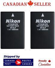 2 PC Brand New EN-EL9 Camera Battery For Nikon D5000 D3000 D60 D40x D40