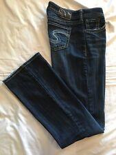 (*-*) SILVER JEANS * Womens NATSUKI Bootcut Blue Jeans / Denim * Size 29 x 33