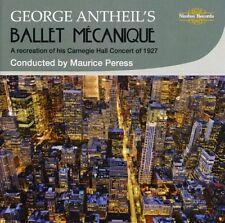 Ballet Mecanique - G. Antheil (2010, CD NIEUW)