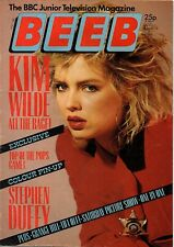 BEEB Magazine No.19  4 - 10 June 1985   Kim Wilde   Larry Hagman  Stephen Duffy