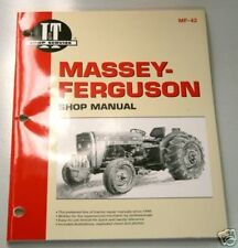 Massey Ferguson 230 235 240 245 250 Mf Tractor I & T Shop Manual Mf42