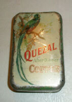 Vintage Advertising Tin QUESAL AFTER DINNER COFFEE German American Coffee Co