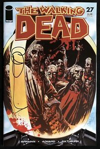 Walking Dead #27 1st Print 1st Governor App Signed by Charlie Adard w/Defects