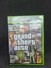 Grand Theft Auto Iv - Xbox 360 - Brand New Factory Sealed Rockstar