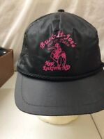 trucker hat baseball cap Vintage Hook & Loop BUCK IT JOES PUB & PIZZA