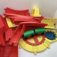 CORGI TOYS GREAT BRITAIN PLASTIC TRAIN SET USED 33 PIECES