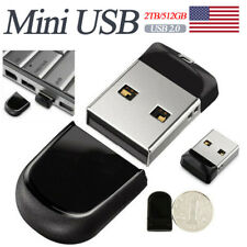 2TB/512GB Mini USB Flash Drive U Disk Pen Drive Thumb Memory Storage PC Laptop
