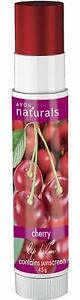 Avon Naturals Cherry Lip Balms Free Ship