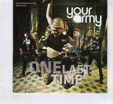 (HL771) Your Army, One Last Time - 2012 DJ CD