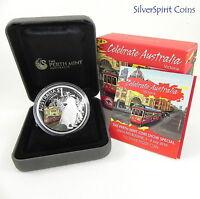 2010 CELEBRATE AUSTRALIA VICTORIA ANDA Coin Show Special Silver Coin